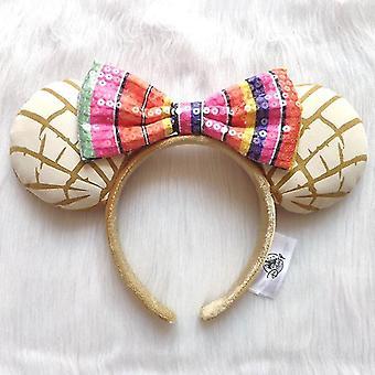 Disney Mickey Mouse Ears Headband Hair Hoop Duffy Bear Wedding Style