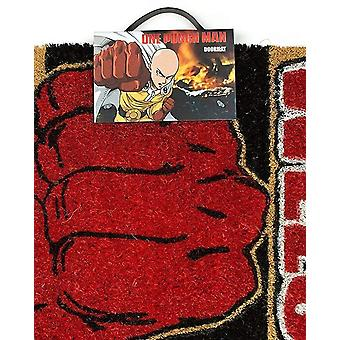One Punch Man One Knock Is More Than Enough! Welcome Saitama Door Mat