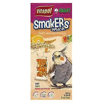 A&E Cage Company Smakers Cockatiel Orange Treat Sticks - 2 count