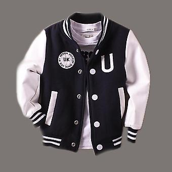 Baby Jacket, Leather Spring Letter Coats