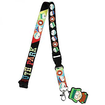 South Park The Boys Lanyard w / Rubber Stan Marsh Character Charm