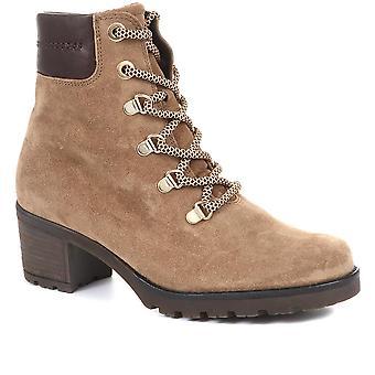 Gabor Womens Instinct Leather Hiker Boots