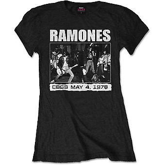 Ramones ladies tee: cbgb 1978