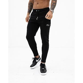 Nimes essential slim fit joggers - black