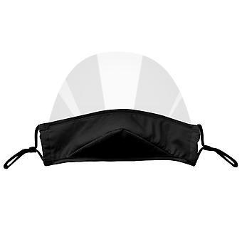 4pc Mini Shield قابلة للغسل قناع مريح قابل لإعادة الاستخدام قناع مرئي شفاف