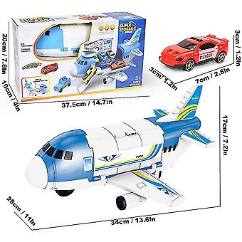9 in 1 Transport Fracht Flugzeug Spielzeug