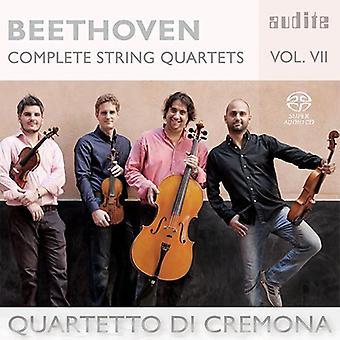 Beethoven, L.V. / Quartetto Di Cremona - Beethoven, L.V. / Quartetto Di Cremona: Complete String Quartets 7 [SACD] USA import