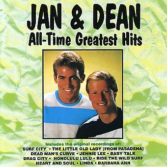 Jan & Dean - All-Time Greatest Hits [CD] USA import