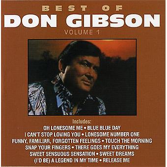 Don Gibson - Vol. 1-Best of Don Gibson [CD] USA import