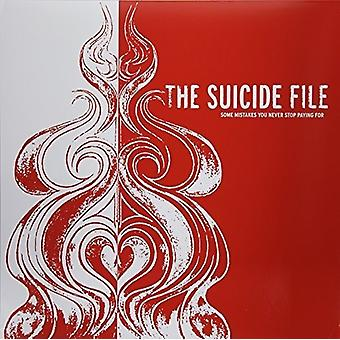 Suicide File - Some Mistakes You Never Stop Paying for [Vinyl] USA import