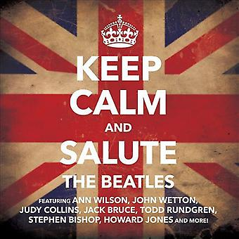 Houden van rust en Salute the Beatles - kalm houden en groet de Beatles [CD] USA import