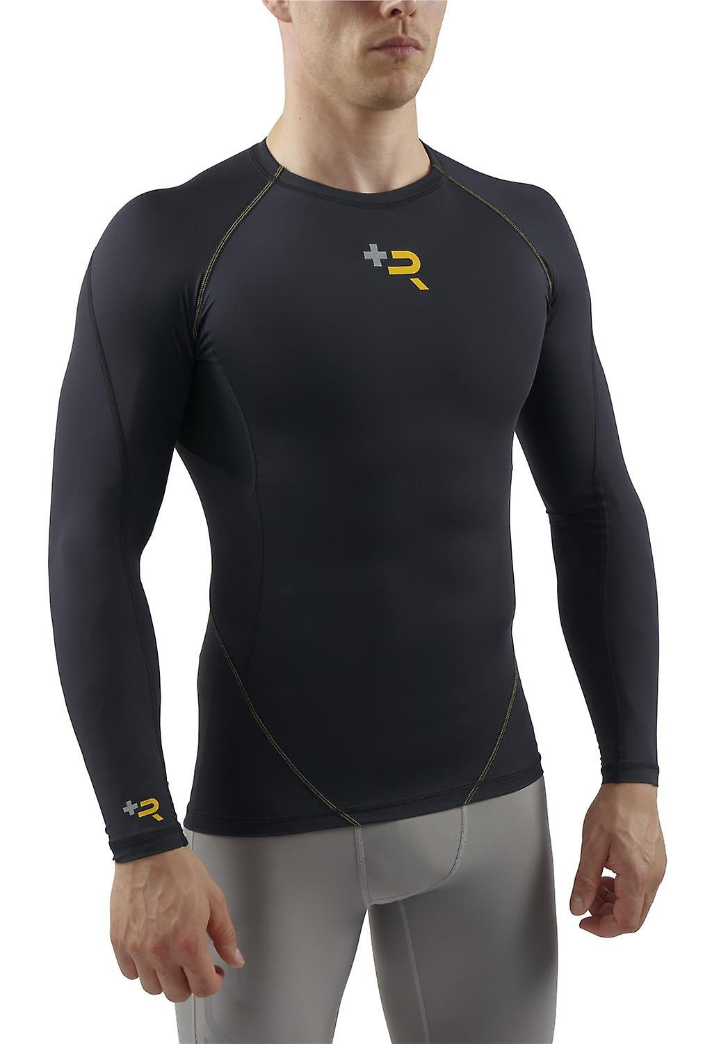 Sub Sports Mens Long Sleeve Vest Top Muscle Recovery Compression Post Work Out