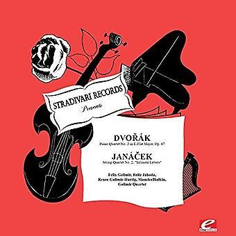Dvorak / Galimir, Félix - Piano cuarteto 2 en mi bemol mayor Op 87 [CD] USA import