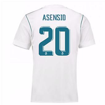 2017-18 real Madrid Home chemise (Asensio 20)