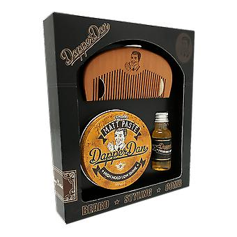 Dapper Dan Hairy Man Combo Kit - Matt Paste