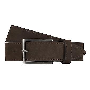 BALDESSARINI correa cuero cinturones hombre cinturones Brown 4675