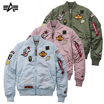 Alpha industries damskie kurtka MA-1 VF patch Wmn