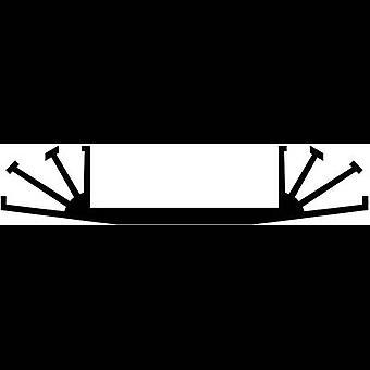 """פישר אלקטרונית SK 07 100 SA כיור חום 3.5 K/W (ל x W x H) 100 x 70 x 15 מ""""מ"""