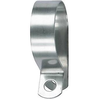 HellermannTyton AFCSS10-SS-ML Kiinnitin Ruuvi kiinnitys 166-50610 Nipun halkaisija (kiinteä)=10 mm 1 kpl(s)