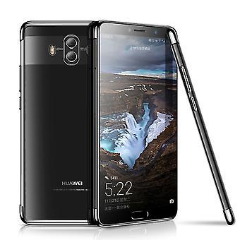 Matkapuhelin kansi tapauksessa Huawei mate 10 Pro avoin läpinäkyvä musta