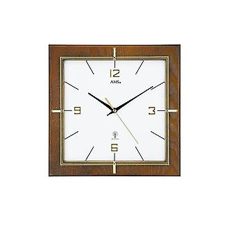 Wall clock radio AMS - 5834
