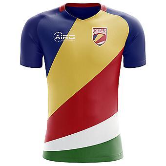 2018-2019 Seychellen Home Concept voetbalshirt