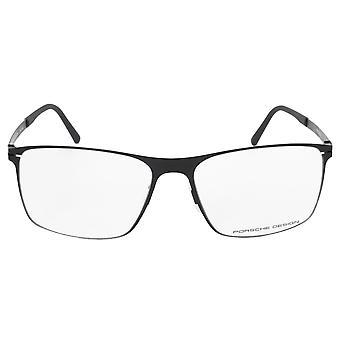 Porsche Design P8256 E Square | Matte Black| Eyeglass Frames