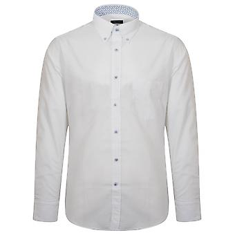 Paul & Shark Shark Fit White Long Sleeve Shirt