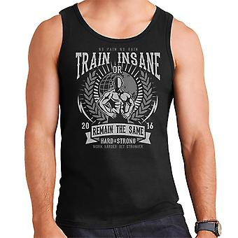 Train Insane Men's Vest