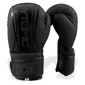 Bytomic Achse V2 Kinder Boxhandschuhe schwarz/schwarz
