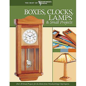 Lådor - klockor - lampor och små projekt - över 20 stora projekt för