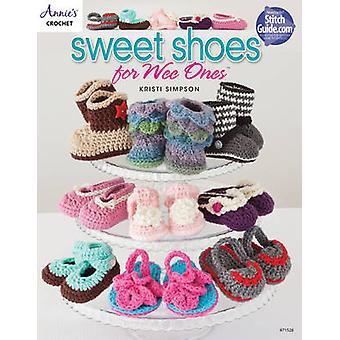 Søte sko for Wee - 15 Hekle sko design for babyer av Krist