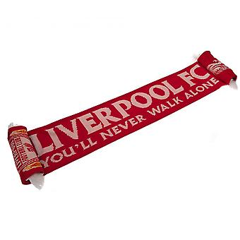 Liverpool FC Never Walk Alone Scarf