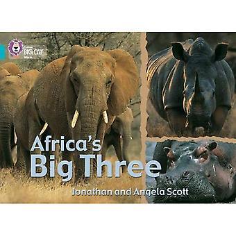 Africa's Big Three: Band 07/Turquoise (Collins Big Cat)