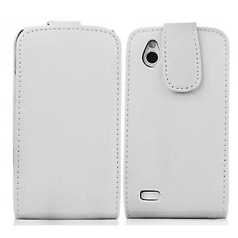Cadorabo Case for HTC DESIRE X Case Cover - Phone Case in Flip Design in Smooth Faux Leather - Case Cover Case Case Case Case Book Folding Style