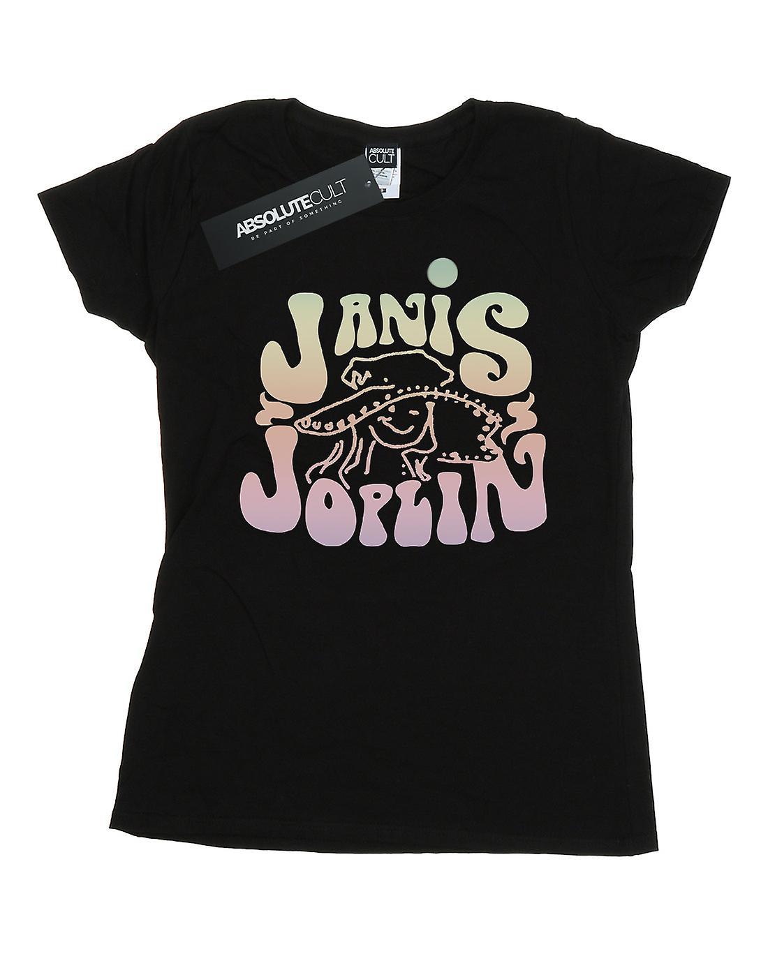 Janis Joplin Women's Pastel Logo T-Shirt