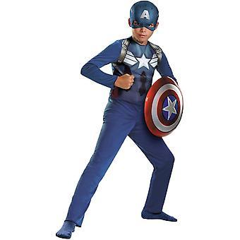 Captain America Avengers kind kostuum