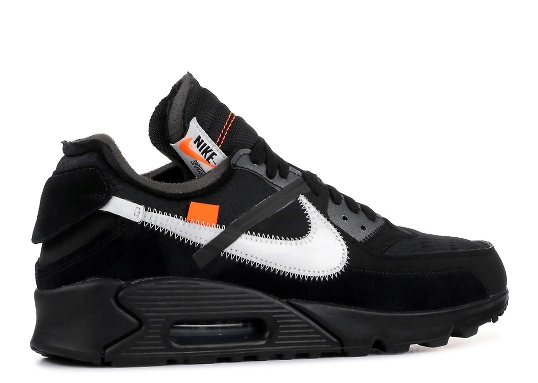 Off White x Nike Air Max 90 Black Where To Buy AA7293
