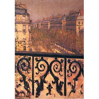 Parijs, Gustave Caillebotte, 55,2 x39cm