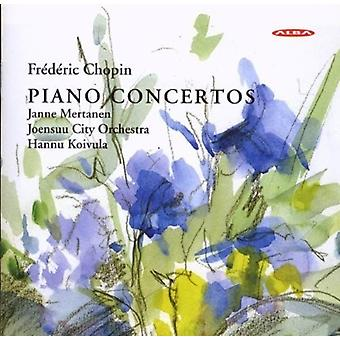 Chopin / Mertanen - Piano Concertos [CD] USA import