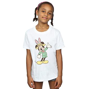 Disney Girls Mickey Mouse Easter Bunny T-Shirt