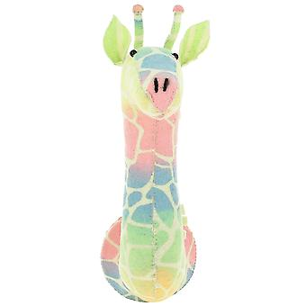 Fiona Walker England Semi Ombre Pastel Giraffe Felt Animal Head