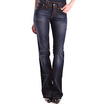 John Galliano Ezbc164028 Women's Blue Denim Jeans
