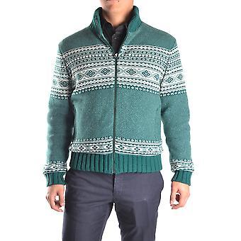 Geospirit Ezbc203005 Men's Green Wool Sweater