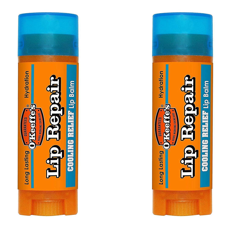 OKeeffes Lip Balm Repair Stick Cooling 4.2g - 2 Pack