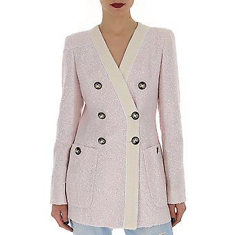 Alessandra Rich Fab1596f24201653 Women's Pink Viscose Blazer