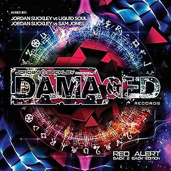 Jordan Suckley, Liquid Soul, Sam Jones - Damaged Red Alert Back 2 Back Edition [CD] USA import