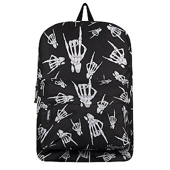 Unorthodox Collective Skeleton Rock Hands Backpack