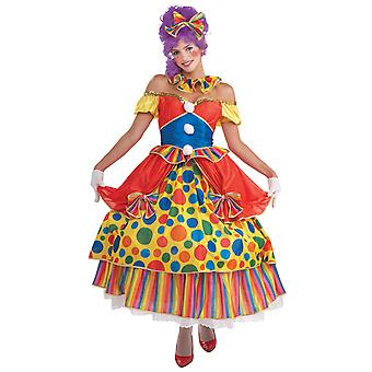 Belle of the Big Top Clown Circus Funny Women Costume Standard