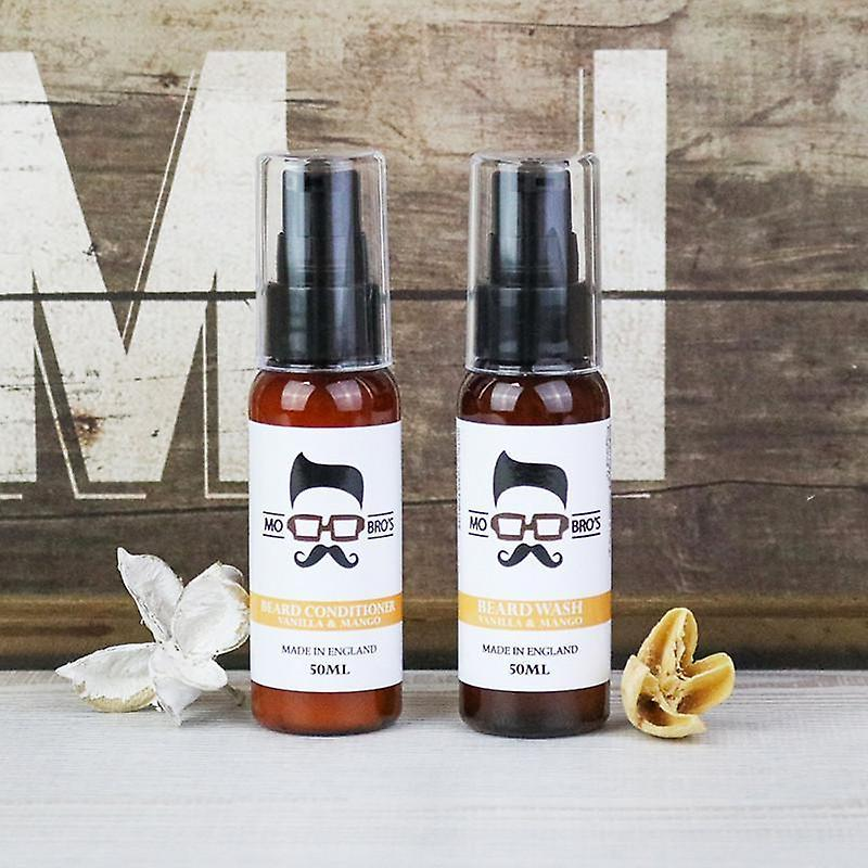 Beard wash + conditioner 50ml cleanse combo